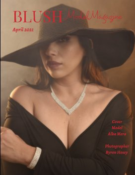 Blush Model Magazine April 2021 book cover