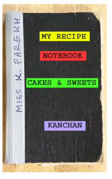 View My Recipe Notebooks by Kanchan Hellyer