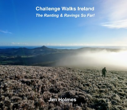 Challenge Walks Ireland book cover