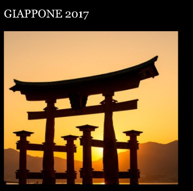 Giappone 2017 book cover
