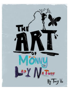 The Art Of Monny and Lady Nature book cover