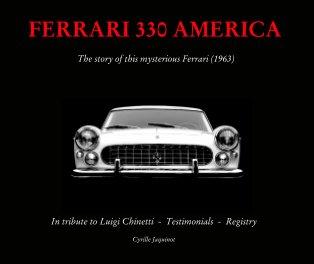 Ferrari 330 AMERICA History Book book cover