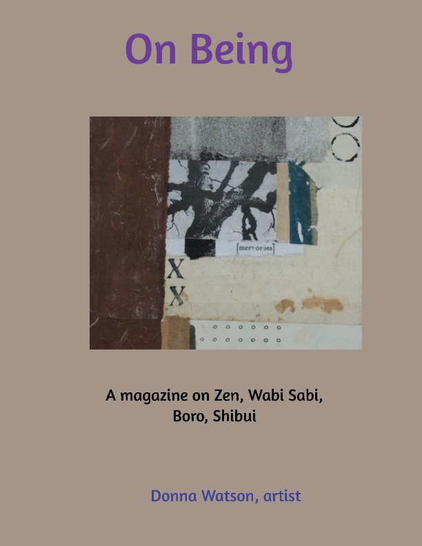 View On Being by Donna Watson