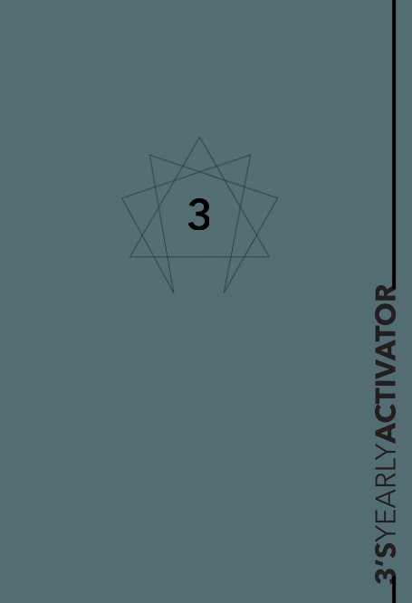 Visualizza Enneagram 3 YEARLY ACTIVATOR Planner di enneaPAGES