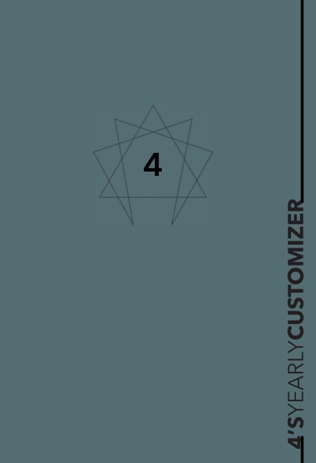 View Enneagram 4 YEARLY CUSTOMIZER Planner by enneaPAGES