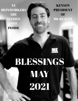 Blessings May book cover
