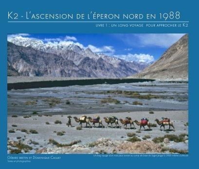 K2 - 1988 : livre 1 un long voyage pour approcher le K2 book cover