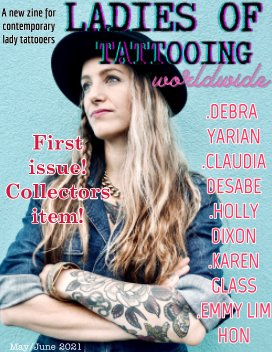 Ladies of Tattooing Worldwide- 1 book cover