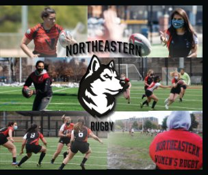 Northeastern Women's Rugby 2020/21 book cover