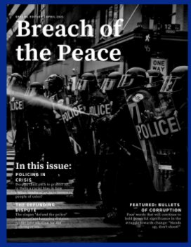 Breach of the Peace 2021 book cover