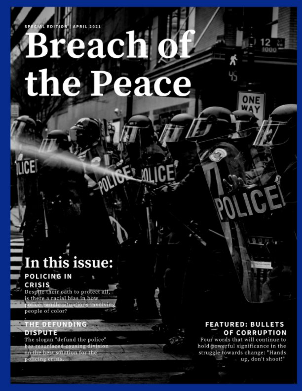 View Breach of the Peace 2021 by Meagan Plumb (editor/advisor)