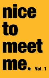 nice to meet me. book cover