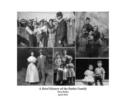A Brief History of the Butler Family-May 2021 book cover