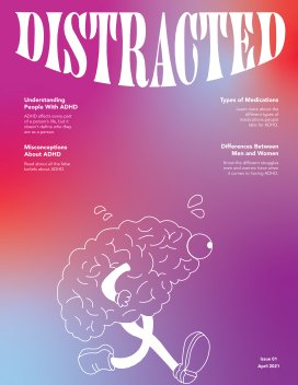 Distracted Magazine book cover