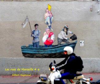 Les rues de Marseille # 6 book cover