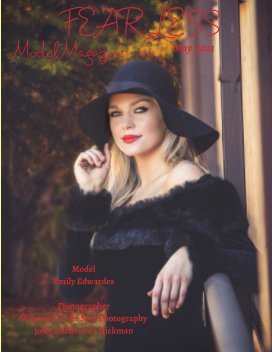 Fearless Model Magazine May 2021 Top Models and Photographers book cover