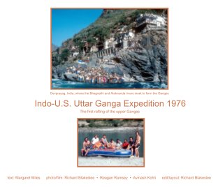 Indo-US Utter Ganga Expedition 1976 book cover