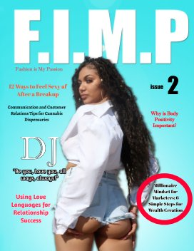 FIMP Magazine issue 2 with DJ book cover