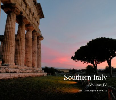 Southern Italy Volume IV book cover