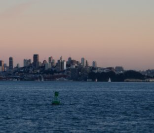 San Francisco and Sausalito Ferry trip 2018 book cover