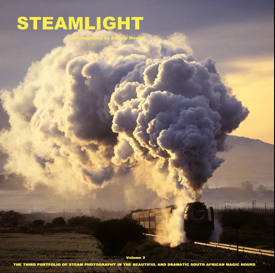 View S T E A M L I G H T   - Volume 3  [very large square format 30 x 30 cm] by Dennis Moore      - Steamlight