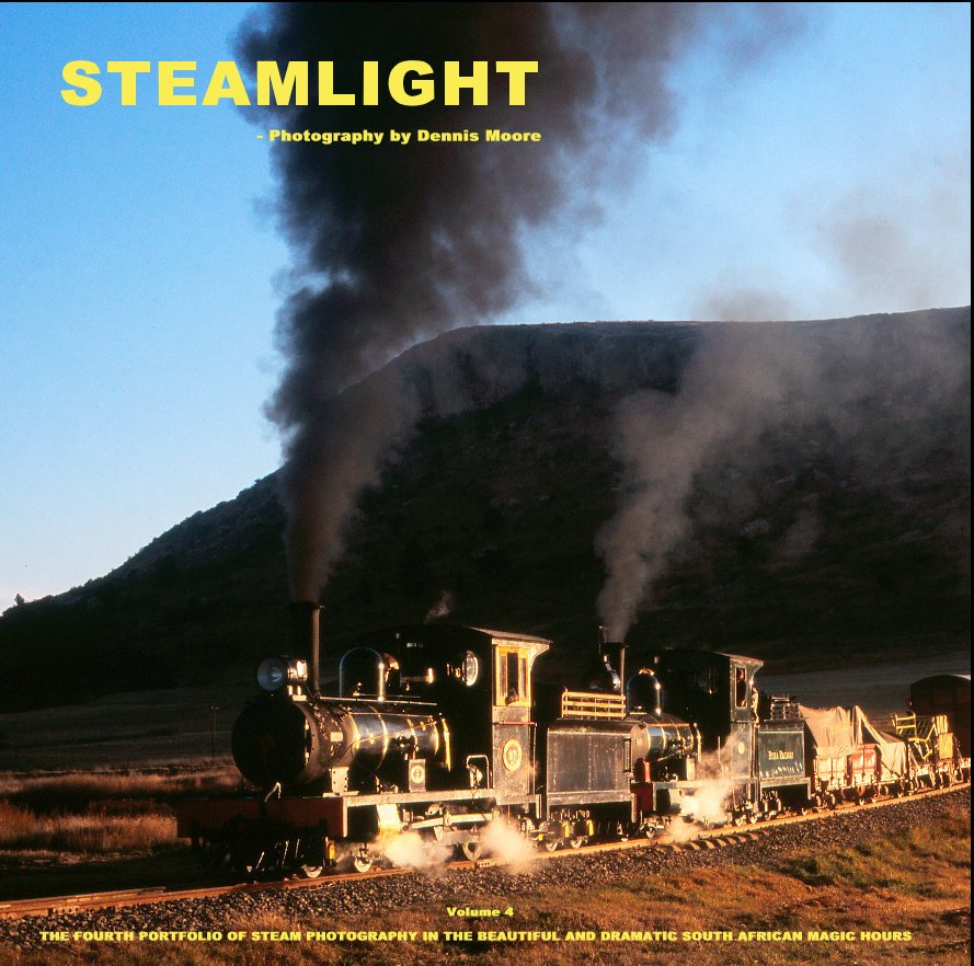 View S T E A M L I G H T  - Volume 4 [very large square format 30 x 30 cm] by Dennis Moore      - Steamlight