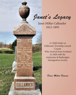 Janet's Legacy book cover
