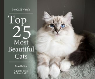 Top 25 Most Beautiful Cats -2nd Edition book cover