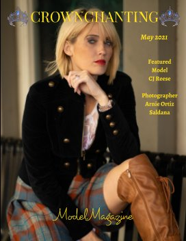 Crownchanting Model Magazine May 2021 Top Models and Photographers book cover