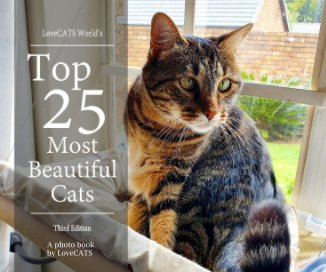 Top 25 Most Beautiful Cats -3rd Edition book cover