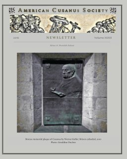 ACS Newsletter 33 book cover