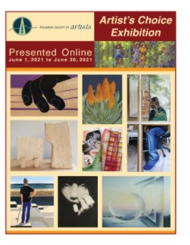 Artist's Choice Exhibition June 2021 book cover