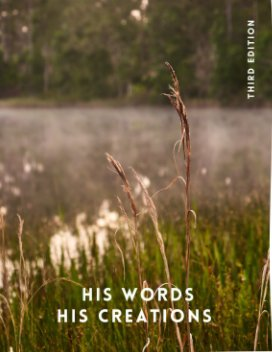 His Words His Creations 3rd Ed book cover