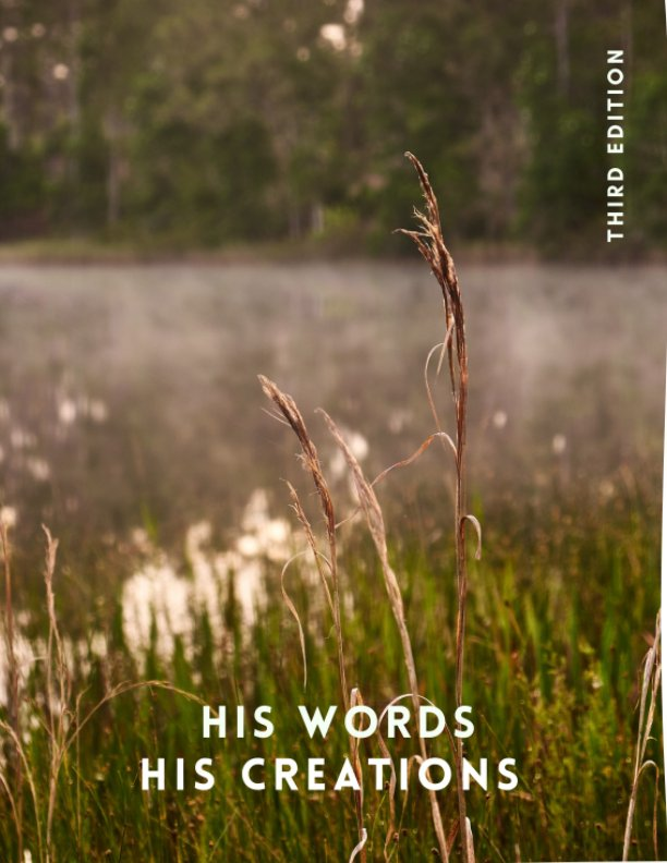View His Words His Creations 3rd Ed by Dante Dancel