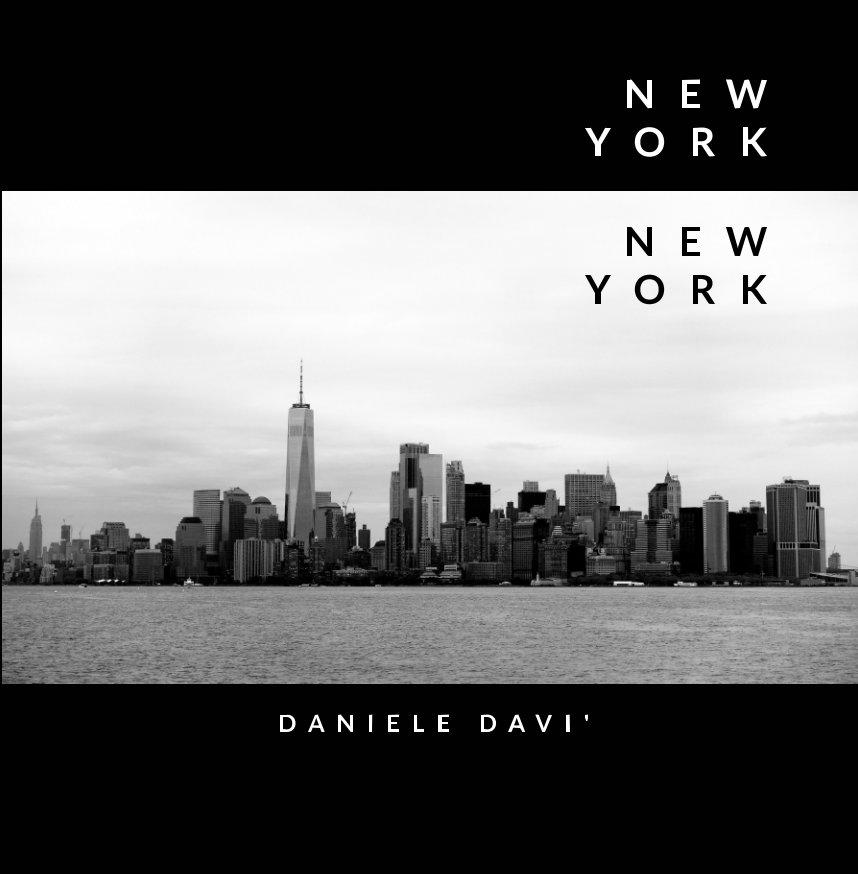 New York New York book cover