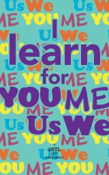 I Learn for You/Me/Us/We book cover