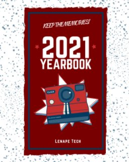 Lenape Tech Yearbook 2020-2021 book cover