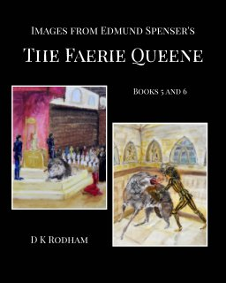 Images from Edmund Spenser's The Faerie Queene book cover