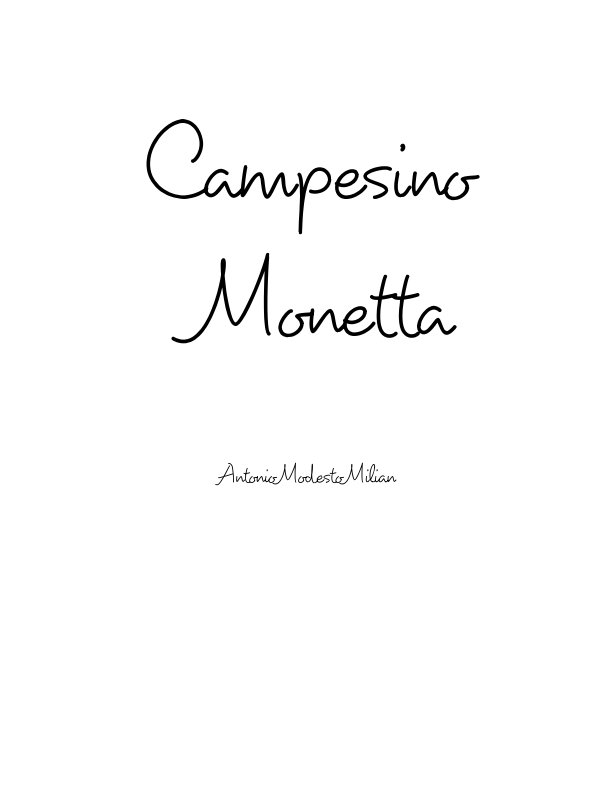 Bekijk Campesino Monetta op Antonio Modesto Milian