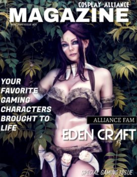 Cosplay Alliance Magazine May 2021 Special Gaming Issue #24 book cover