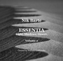 ESSENTIA Catalogue Volume 2 book cover