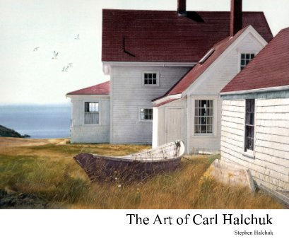 The Art of Carl Halchuk book cover