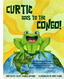 Curtie Goes to the Congo-Tagalog book cover