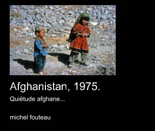 Afghanistan 1975 book cover