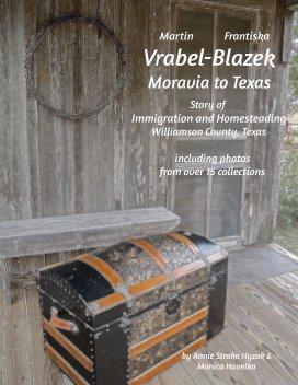 The Martin and Frantiska Blazek Vrabel Family book cover