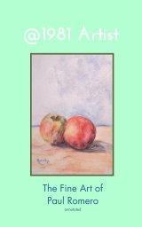 @1981 Artist book cover