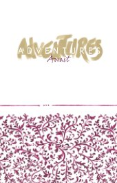 Travel Journal - Adventures Await book cover