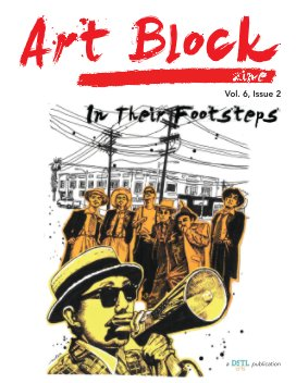In Their Footsteps: Art Block Zine; Vol. 6, Issue 2 book cover