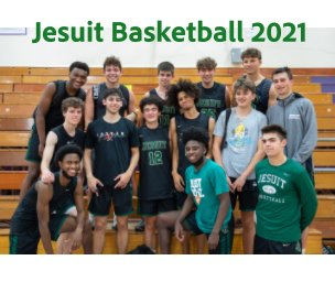 Jesuit Basketball 2021 book cover