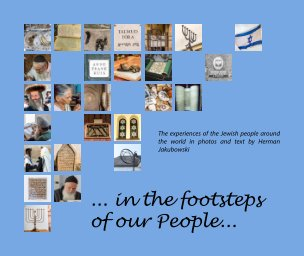 """""""in the footsteps of our People"""" book cover"""